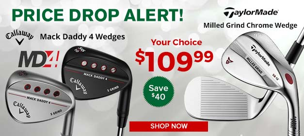 Featured Callaway and TaylorMade Wedges at GolfDiscount.com