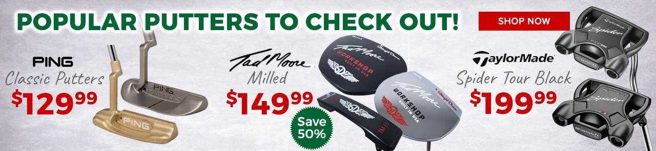 Featured Putters at GolfDiscount.com