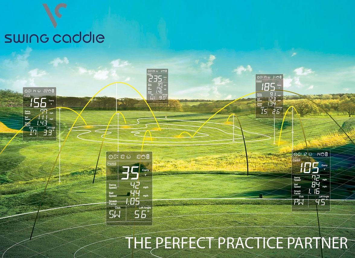 Voice Caddie Swing Caddie SC200 data at various yardages
