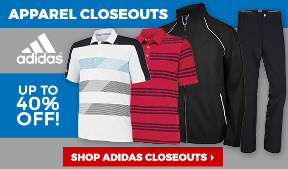 Shop Adidas Golf Apparel Closeouts