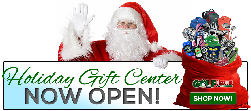 Holiday Gift Center now open at Golf Discount!