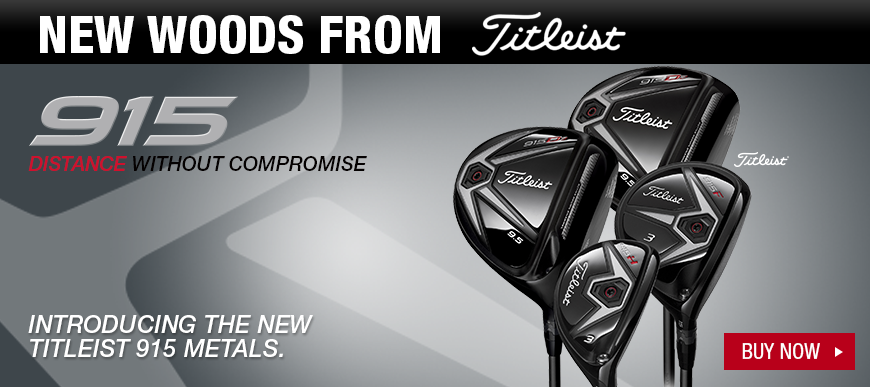 Titleist 915 Woods