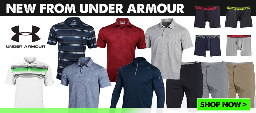 New from Under Armour at Golf Discount