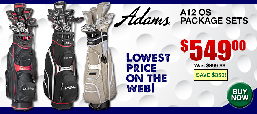 Adams A12 OS Package Sets at Golf Discount