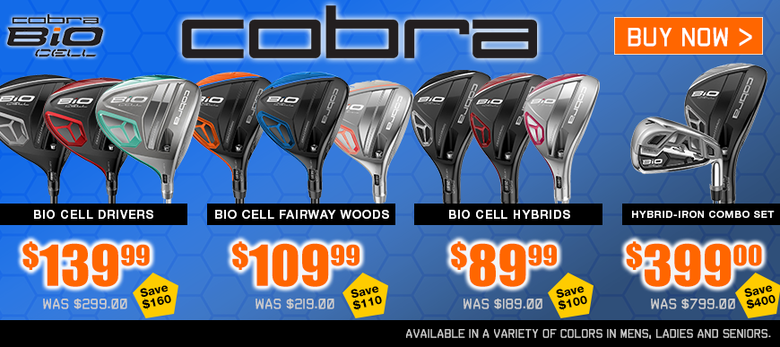 Cobra Bio Cell at Golf Discount