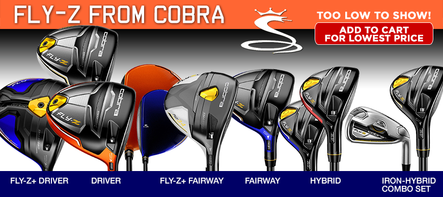 Cobra Fly-Z at Golf Discount