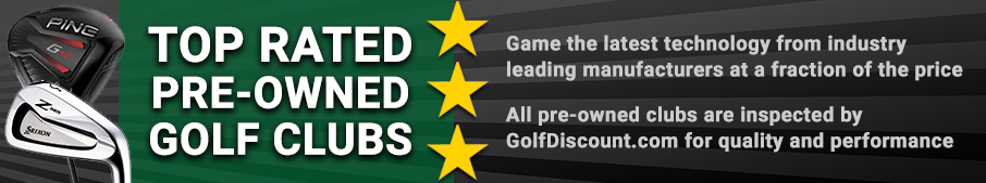 Buy Pre-Owned Golf Clubs at GolfDiscount.com