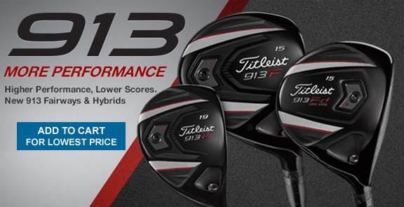 Titleist 913 Woods
