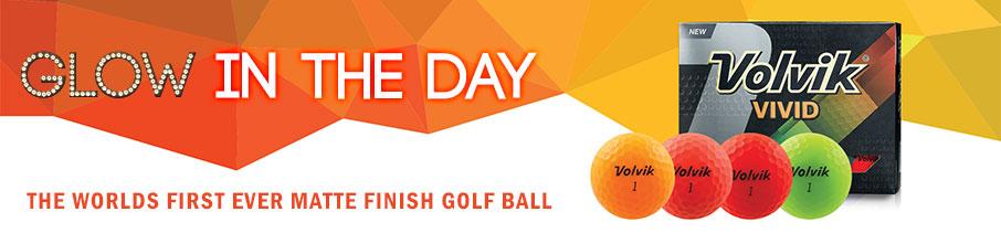 Volvik Vivid Golf Ball - Glow In The Day!